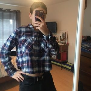 Plaid shirt from PacSun